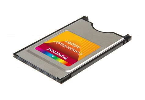 Transcend Compactflash Pcmcia Adapter by Transcend Pcmcia Adapter For Compactflash Type I Memory Cards