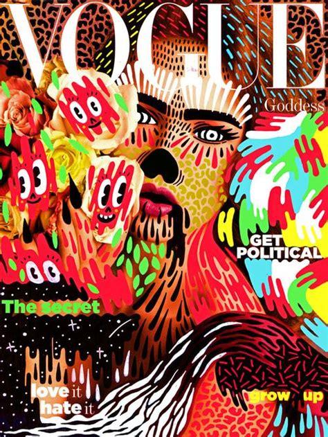 New Vogue Doodle Bomb Editorial