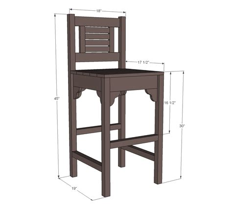 plans  build bar stool wood plans  plans