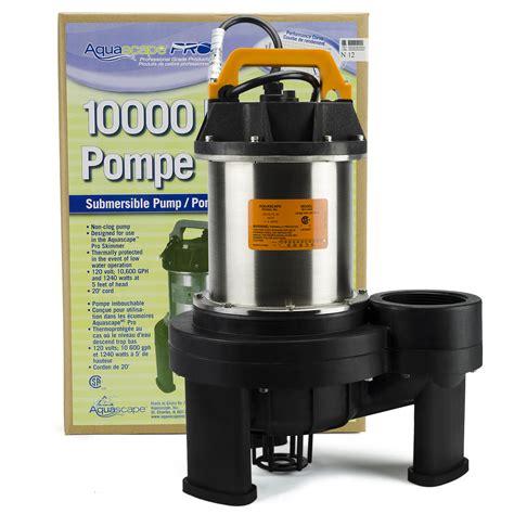 Aquascapes Pumps by Aquascape Aquajet 174 Pond Pumps Aquascapes