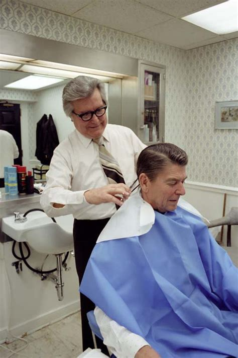 ronald reagan haircut milton pitts wikipedia