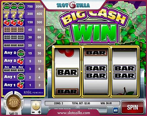 Free Slots Win Money - big cash win slot machine game to play free in rival s online casinos