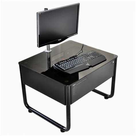 Lian Li Computer Desk Lian Li Desk Pc Cases Finalized Augmented Furniture