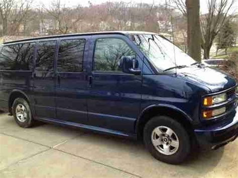 how to sell used cars 2001 chevrolet express 1500 free book repair manuals buy used 2001 chevy express lt in bethel park pennsylvania united states for us 6 200 00