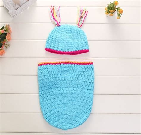 Handmade Crochet Baby Clothes - handmade crochet hungry caterpillar baby cocoon hat