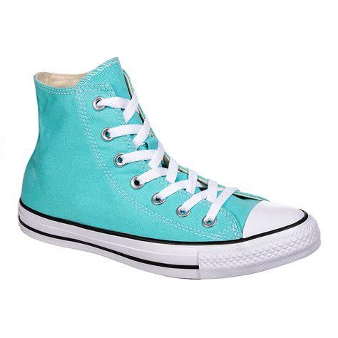 light aqua high top converse converse all light aqua hi top boots unisex high top