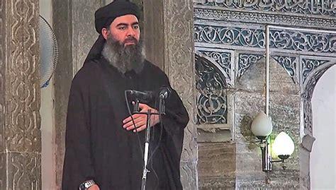 abu bakr al baghdadi fight to the end is boss baghdadi urges mosul jihadists