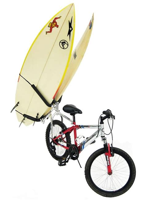 Bicycle Surfboard Rack by Bike Balance Surfboard Rack Kit Bikes
