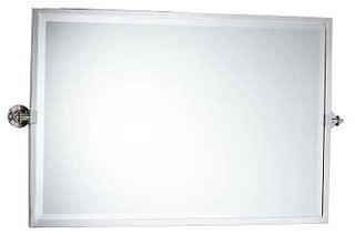 kensington pivot mirror extra large wide rectangle satin traditional bathroom mirrors jpg