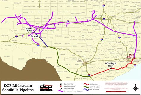 texas pipeline map dcp midstream and west texas lpg pipeline announce agreements for ngl gathering services