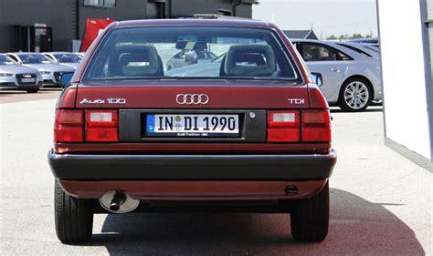 Audi 100 Tdi by Audi 100 Tdi 1989 El Primer Tdi De Audi Lo Probamos