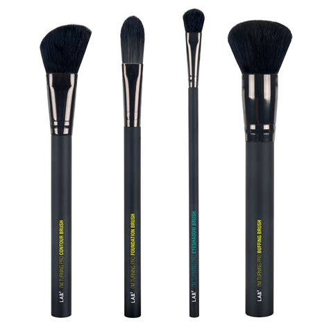makeup brush lab2 professional makeup brush kit quot turning pro quot