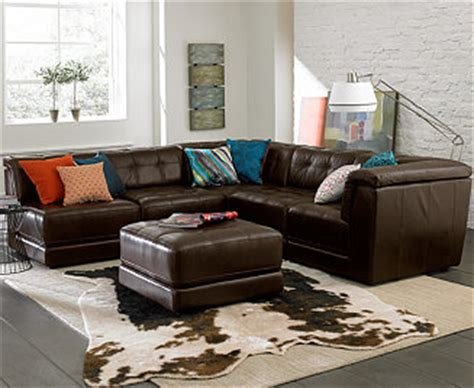 macys living room furniture stacey leather modular living room furniture collection