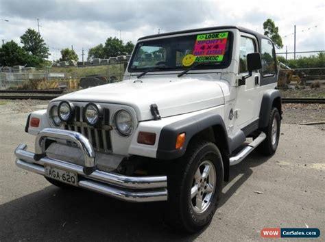 1998 jeep white jeep wrangler for sale in australia