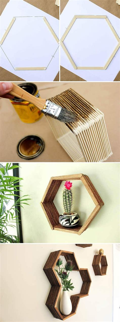 crafts diy home decor 25 best ideas about popsicle stick crafts on pinterest