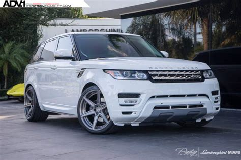 range rover custom wheels land rover range rover sport custom wheels adv 1 6 mv2 sl