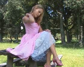 petticoats featuring classy ladies flashing silky