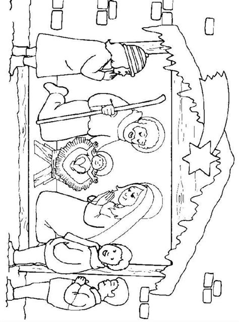 coloring page of jesus birth birth of jesus coloring pages nativity of jesus coloring