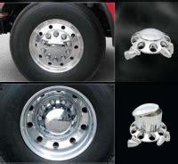 premium abs semi truck wheel covers  sale set    front  rear