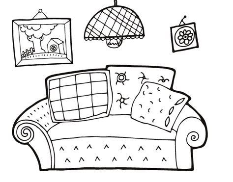 living room coloring free coloring pages of the living room