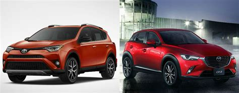 difference in mazda 3 models differences between the 2016 toyota rav4 and 2016 mazda cx 3
