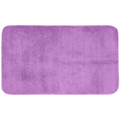 washable accent rugs garland rug glamor purple 30 in x 50 in washable