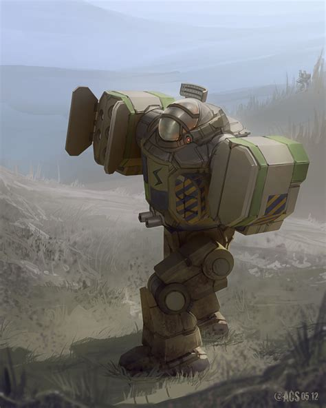 Of Robots Heavy Gun Barrel Ng 4 mackie the grand o of all battlemechs contrary to