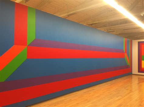acrylic paint for wall exhibition sol lewitt at mass moca part one color