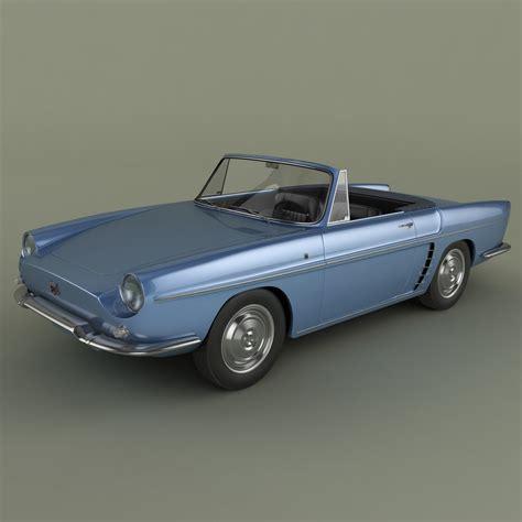 renault caravelle renault caravelle 1961 3d model max obj 3ds cgtrader com