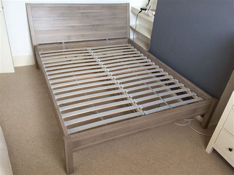 king size ikea bed ikea nyvoll king size bed frame for sale in hackney
