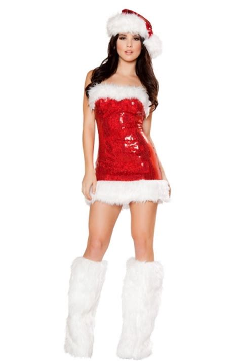 Mini Dress Mrs 46 41 sequin mini dress mrs santa claus