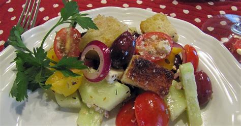 ina garten panzanella salad a spoonful of thyme greek panzanella