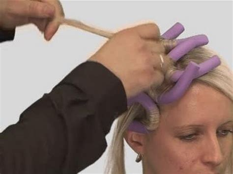 Hair Curlers For Hair How To Use by How To Use Foam Curlers