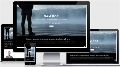 Best Portfolio Website Template Free Webthemez Free Responsive Portfolio Website Templates