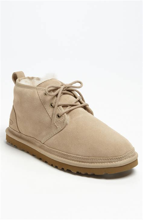 mens ugg chukka boots ugg chukka boot in beige for sand lyst