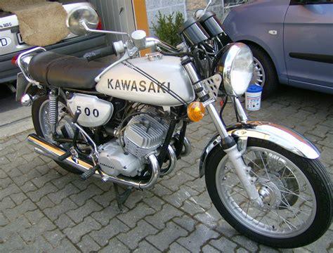 Kawasaki 2 Takt Motorrad by Kawasaki 500 H1 Mach Iii Zylinder Takt Oldtimer