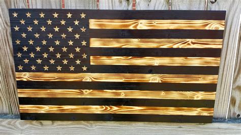 wooden boat flags charred wood flag american flag wood flag wooden flag