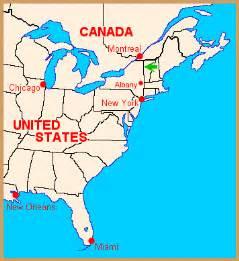 america map new york new york map of america