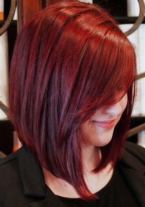 black hair color with a line cut 2015 inverted bob haircuts and hairstyles 2018 long short