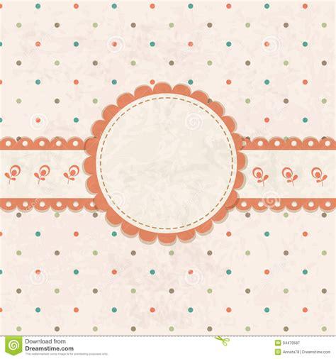 retro polka dot pattern vector by heizel on vectorstock vintage vector background stock vector image of