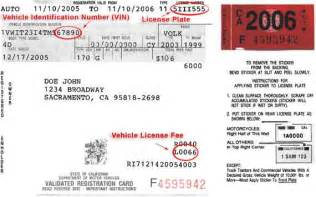 when is new registration dates for cars vehicle registration how to register your vehicle