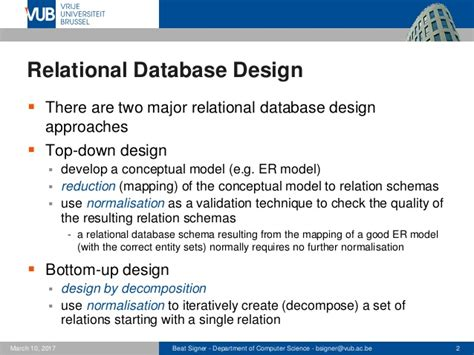 introductory relational database design for business with microsoft access books relational database design lecture 4 introduction to