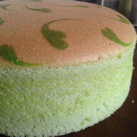 Ogura Pandan Pandan Ogura Sponge Cake Cakes