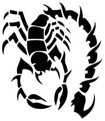 tato kalajengking tribal 10 tato tribal kalajengking keren terpopuler tato dan poster