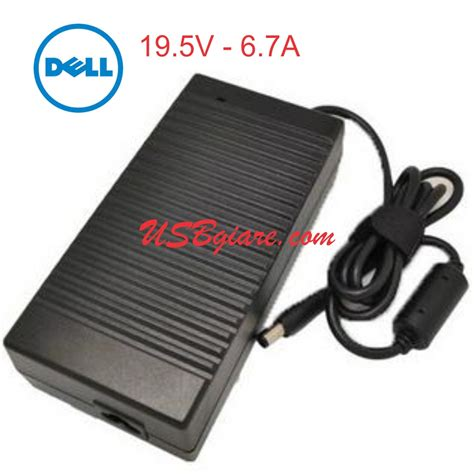 Adaptor Dell 19 5v 6 7a Only Unit sạc laptop dell 19 5v 6 7a 130w zin