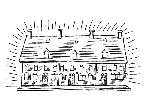 printable roman house free coloring pages of victorian houses