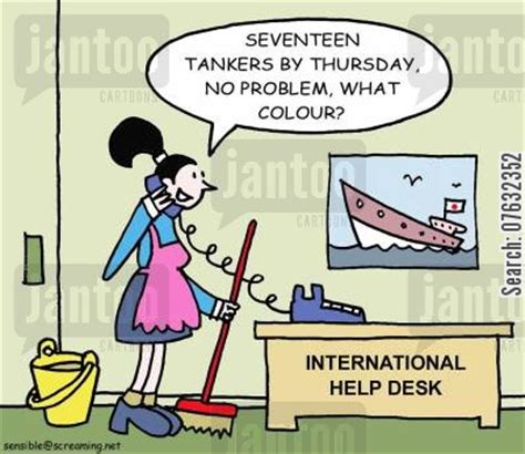 How To Get A Help Desk With No Experience by International Help Desk Humor From Jantoo