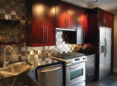 Kitchen Metal Backsplash Ideas by Kitchen Backsplash Materials An Architect Explains