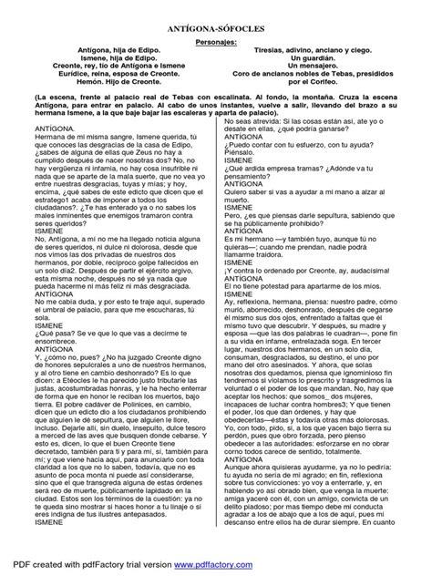 ANTIGONAS SOFOCLES.pdf   Edipo   Religión y creencia