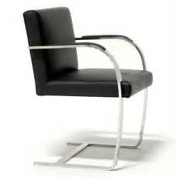 Metal Frame Chair Legendary Furniture Design By Mies Van Der Rohe